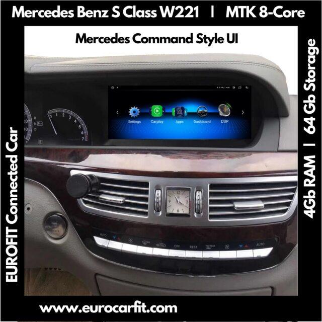 Merc 'C' 'GLC' Center Console AC Vents Dashboard Trim For